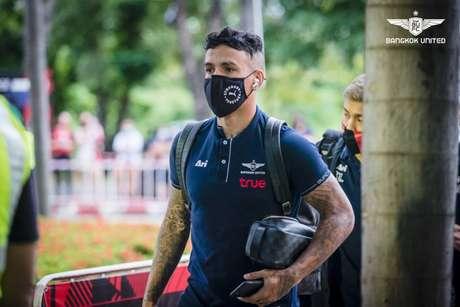 Vander vive bom momento na carreira (Foto: Divulgação / Bangkok United)