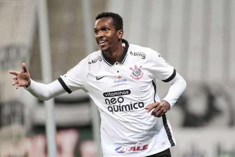 Contra o Ituano, Jô marcou apenas o seu segundo gol nesta temporada (Foto: Rodrigo Coca/Agência Corinthians)