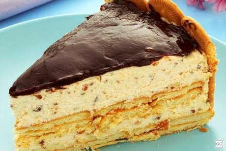 Guia da Cozinha - Torta holandesa de biscoito maisena fácil e deliciosa
