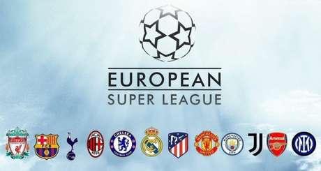 Superliga Europeia pretende revolucionar o futebol europeu (Imagem: Divulgação)
