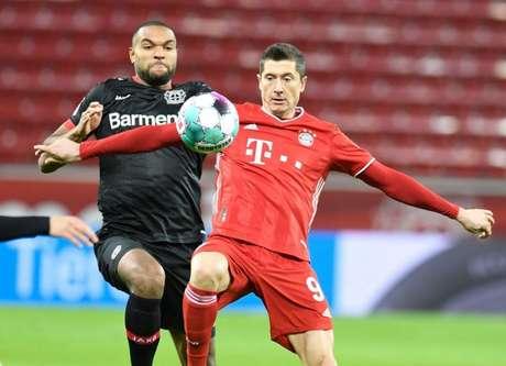 Bayern de Munique venceu o Bayer Leverkusen por 2 a 1 no primeiro turno (Foto: BERND THISSEN / POOL / AFP)
