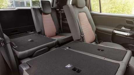 Mercedes EQB é o primeiro Mercedes elétrico com capacidade para sete passageiros.