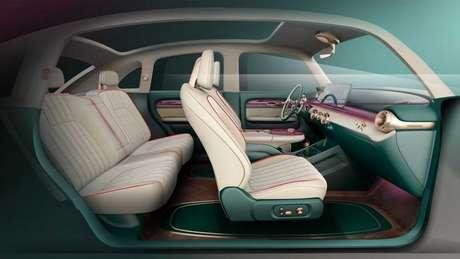 Interior foi pensado para proporcionar conforto também no banco de trás.