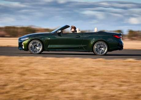 Novo conversível da Série 4 custa R$ 460.950 nas lojas da BMW.