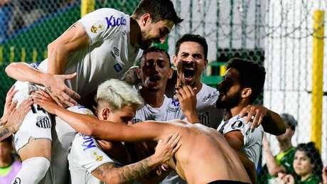 Santos estreou na Libertadores de 2020 com vitória sobre o Defensa y Justicia (Foto: Staff Images)