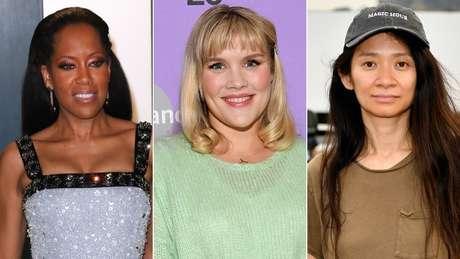 Regina King, Emerald Fennell e Chloe Zhao foram indicadas para melhor diretor no Globo de Ouro