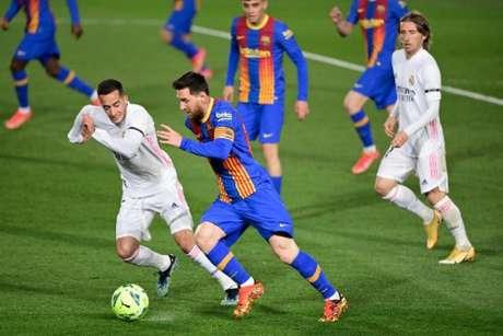 Messi pode estar de saída do Barcelona (Foto: JAVIER SORIANO / AFP)