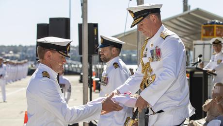 O restante do evento contou com cerimônias mais típicas de encontros militares