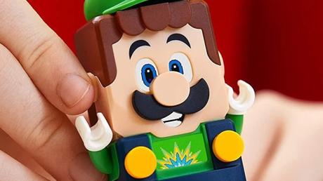 Lego Luigi estreia em Lego Super Mario