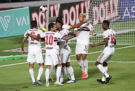 Tricolor venceu suas quatro últimas partidas (Foto: Paulo Pinto / saopaulofc.net)