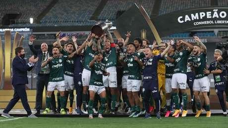 O Palmeiras foi o campeão da edição de 2020 da Libertadores (Foto: Cesar Greco/Palmeiras)
