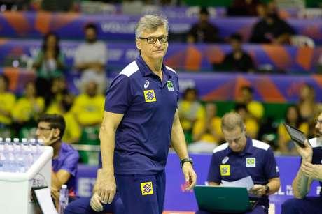 Renan Dal Zotto, técnico da Seleção Brasileira de vôlei masculino