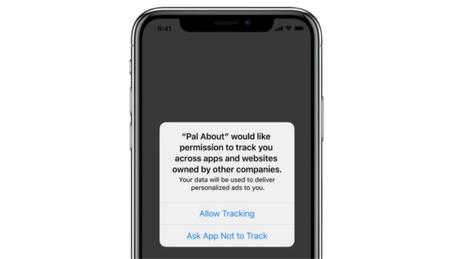 Alerta de privacidade do iOS (Reprodução/Apple)