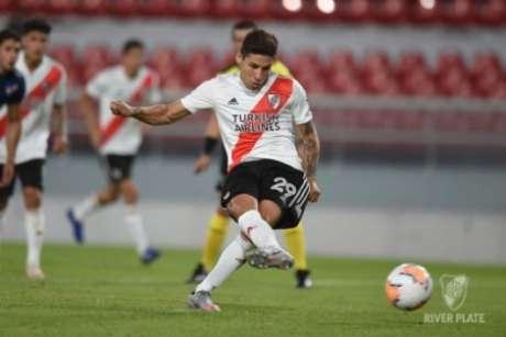 Montiel é uma das principais armas do River Plate. AFP