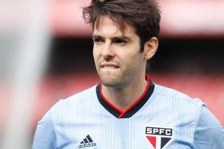 O jogador kaka durante a partida entre São Paulo e Avaí