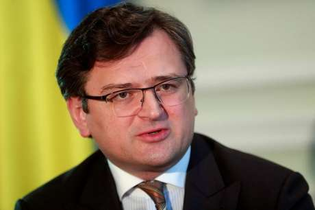 Ministro das  Relações Exteriores da Ucrânia, Dmytro Kuleba. 21/4/2021.  REUTERS/Valentyn Ogirenko