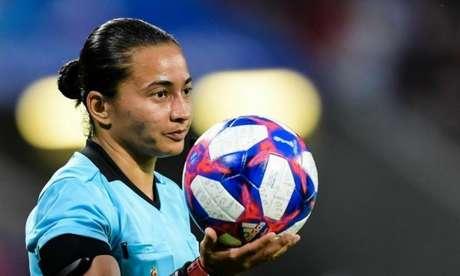 Edina Alves foi selecionada pelo comitê olímpico e compõe a equipe de arbitragem (Foto: Cesar Greco)