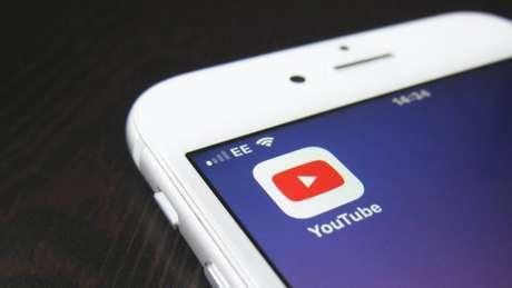 Aplicativo do YouTube