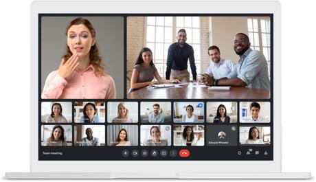 Google Meet permite fixar mais de um participante