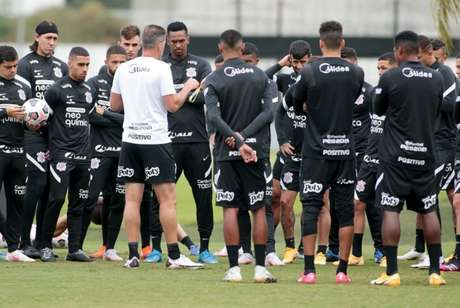 Corinthians fechou a preparação para pegar o River Plate-PAR (Foto: Rodrigo Coca/Ag. Corinthians)