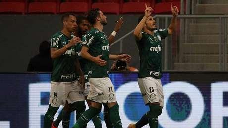 O atual campeão Palmeiras estreia na competição para defender o título continental pelo grupo A (Foto: AFP)