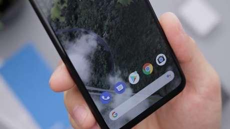 Apps em um celular Android