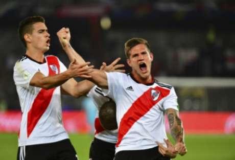 River Plate na Libertadores de 2018 (Foto: Giuseppe Cacace - AFP)