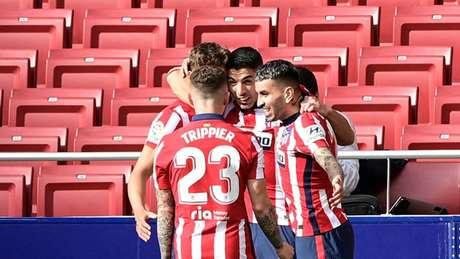 Atlético voltou a viver bom momento no Campeonato Espanhol (JAVIER SORIANO / AFP)