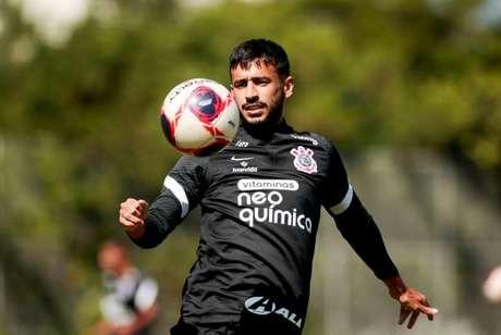 Camacho deve ganhar uma vaga no time titular do Corinthians (Foto: Rodrigo Coca/Ag. Corinthians)