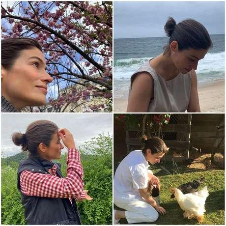 Renata Vasconcellos revela um pouco de sua vida fora dos estúdios da Globo: contato espiritual com a natureza