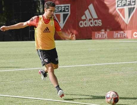 Hernanes está próximo de retornar após lesão (Foto: Fellipe Lucena/São Paulo FC)