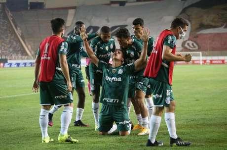 Renan comemora gol pela Libertadores (Foto: Staff Images/Conmebol)