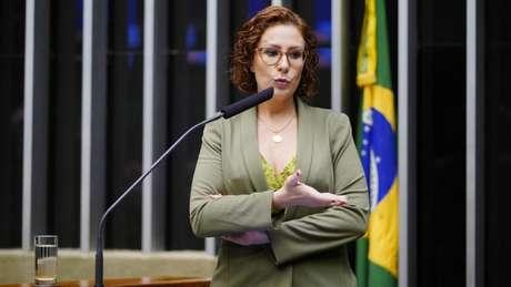 Deputada federal Carla Zambelli (PSL-SP) disse que ingressou com ação na Justiça Federal do Distrito Federal para impedir que Renan Calheiros assuma relatoria da CPI