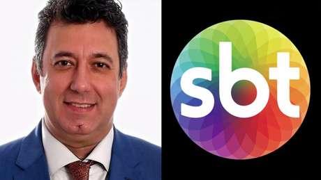 Silva Jr é mais um narrador do grupo SBT (Montagem Lance! Fotos: Reprodução)