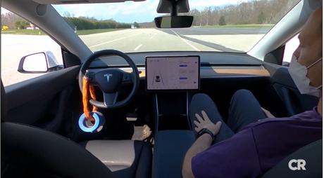 Tesla Model Y teve sistema Autopilot enganado pelos engenheiros da Consumer Reports