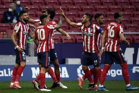 Atlético voltou à liderança (Foto: OSCAR DEL POZO / AFP)