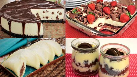 Qual a sua sobremesa com leite ninho preferida?