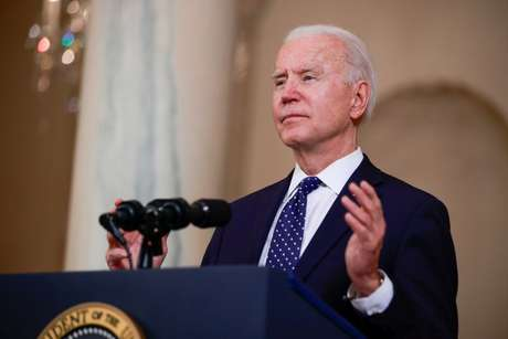 Presidente dos EUA, Joe Biden na Casa Branca 20/04/2021 REUTERS/Tom Brenner