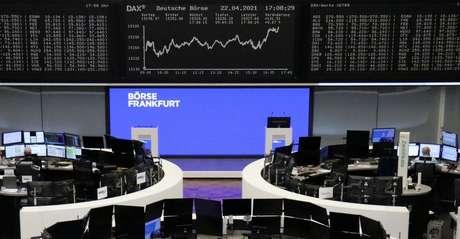 Bolsa de Valores de Frankfurt 22/04/2022 REUTERS/Staff