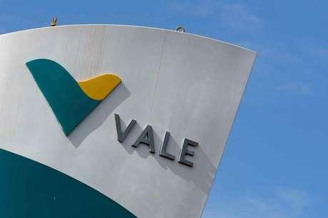Logo da Vale na mina de Brucutu, no Estado de Minas Gerais REUTERS/Washington Alves