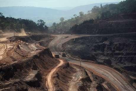 Área de exploração de minério de ferro em Parauapebas (PA)  29/05/2012 REUTERS/Lunae Parracho