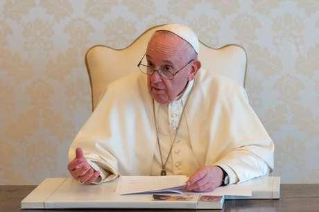 Papa Francisco em discurso do Dia da Terra  22/4/2021    Divulgação