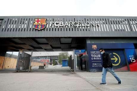 Estádio do Barcelona  19/4/2021  REUTERS/Albert Gea