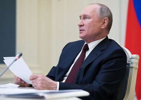 Presidente da Rússia, Vladimir Putin   22/4/2021   Divulgação