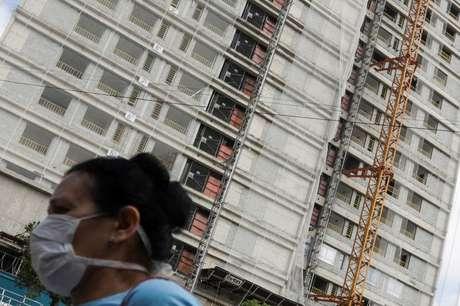 Edifício em construção em Sao Paulo (SP)  01/04/2020 REUTERS/Rahel Patrasso