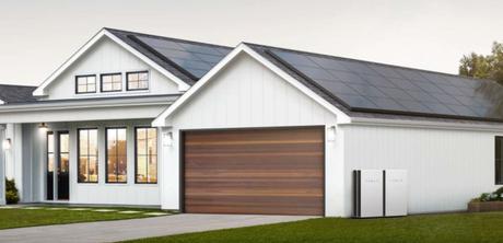 Painéis solares da Tesla com Powerwall