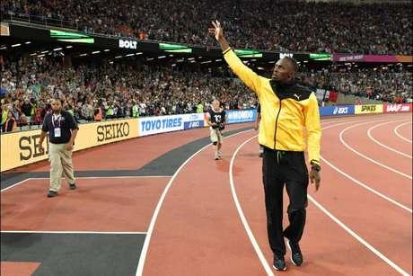 Usain Bolt é tricampeão olímpico (Andrej ISAKOVIC / AFP)