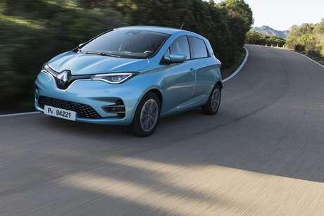 Novo Renault Zoe E-Tech.