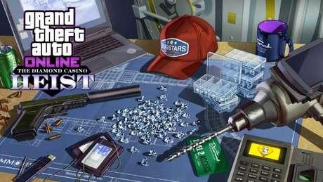 Golpe do Cassino Diamond em GTA Online