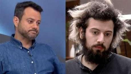 Jornalistas Eric Faria e Lucas Strabko trocam 'diretas' em rede social: 'O resto é problema seu e do Resende' (Montagem LANCE!)